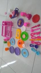 Escorredor de brinquedo com todos acessórios