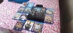 PS4 + 11 jogos