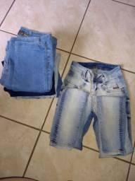 Vendo seis calça jeans número 36