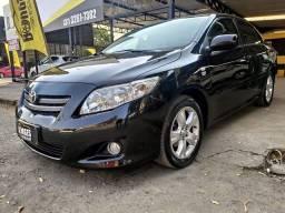 Toyota corolla automático, kit gás, com multimídia couro e pouco rodado