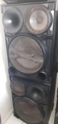 Vendo par de caixas sony sh2000