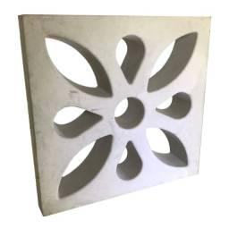 Cobogó, elementos vazados em concreto, pré moldados, bloco de concreto