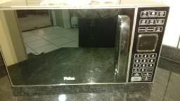 Usado, Microondas philco espelhado comprar usado  Nova Santa Rita