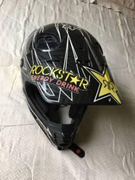 Capacete Fox Rockstar 57 58