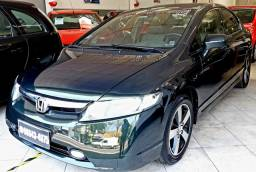 Honda Civic lxs 1.8 automático, 2008,conservado, sem entrada!!!