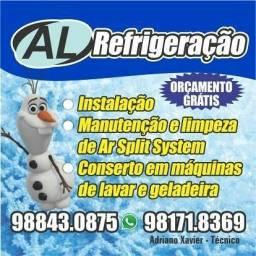 Conserto de geladeiras máquinas de lavar e ar condicionado Split