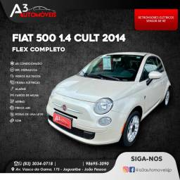 Fiat 500 1.4 Cult Completo!!!