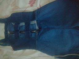 Macaquinho jeans