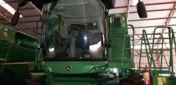 Colheitadeira JD S680 4x4 2017 completa 40 pés Drapper