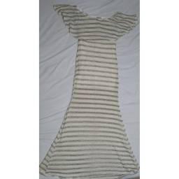 Vestido de tricot para festa tamanho M
