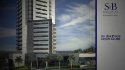 SB medical sala de 51m², bairro Jd Cuiabá excelente localização