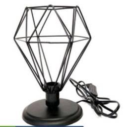 Abajur - Luminária diamante