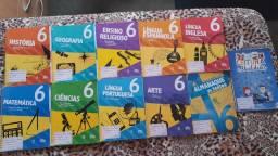Kit de livros 6 ano da escola adventista
