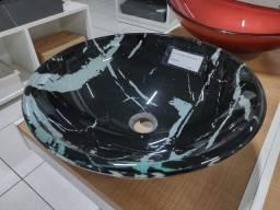 Cuba de vidro para lavatorio