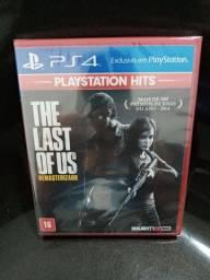 Jogo PS4 The Last of Us remasterizado novo em português lacrado