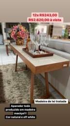 Título do anúncio: Trio aparador, mesa lateral e mesa de centro