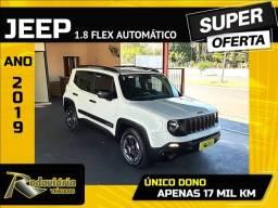 Título do anúncio: RENEGADE 2019/2019 1.8 16V FLEX 4P AUTOMÁTICO