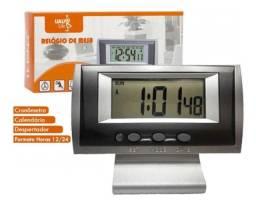 Relógio Digital de mesa Despertador Lelong