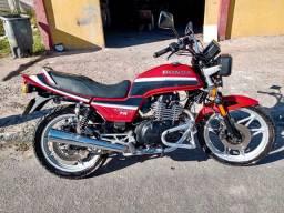 CB 450 Dx 1989 ( em estado de zero )