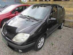 Renault scenic 36x549 sem entrada previlegi 1.6 completa 2005