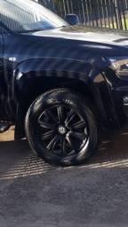 Rodas aro 18 com pneus amarok