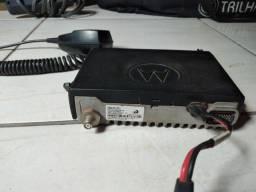 Rádio amardo Motorola em 200