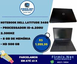 Notebook I5-6.200U 2.30 GHz/ 8GB de memória/ HD 500 GB