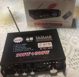 Amplificador 600w bluetooth