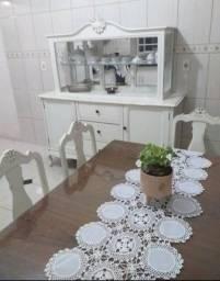 sanla de jantar com 4 cadeiras provencal