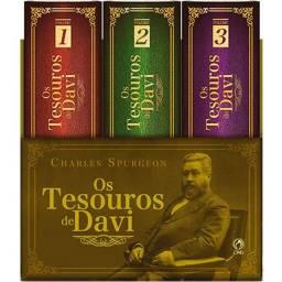 Os Tesouros de Davi<br>- Charles Spurgeon - CPAD
