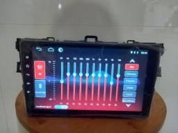 Central multimídia Android Corolla 9 polegadas