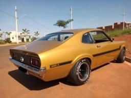 Ford Maverick 1975 motor V8 câmbio T5