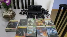 Xbox 360 Slim Desbloqueado - Completo