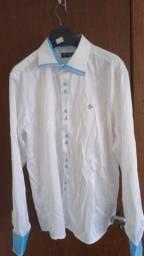 Camisa Social Branca Dudalina Sport 44/45
