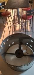 base tacho para fritura inox