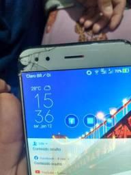 Vendo Asus ZenFone 4 telefone top TD e negocialvel
