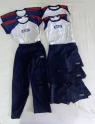 Lote uniforme Sesi Infantil Feminino tam8anos