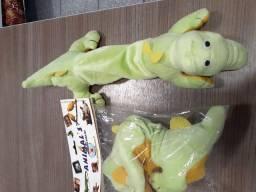 Jacaré green 30cm atacado