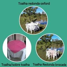 Aluguel de mesas cadeiras e toalhas.