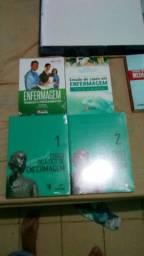 coleção de livros técnicos de enfermagem