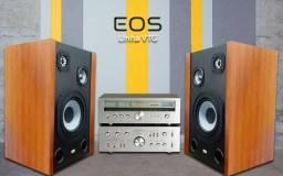 Caixa Som Vintage Eos 150w Para Gradiente, Polivox, Receiver