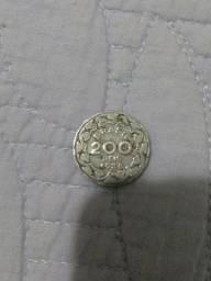 Moeda 200 réis Getúlio Vargas de 1938