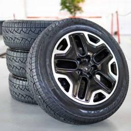 rodas 17 renegade trailhawk 5x110 mopar pneu pirelli at 215x60