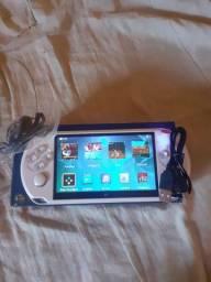 Handheld game supporte novo na caixa