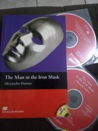 Livro inglês the Man in the iron mask