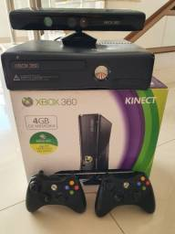 Xbox 360 +Kinect travado