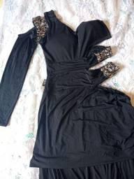 Vestido longo Paula Melo