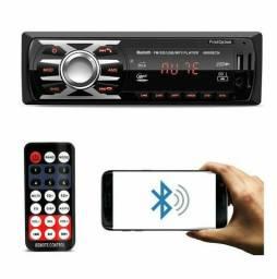 Aparelho De Som Carro Radio Automotivo Bluetooth Pendrive Sd Rádio