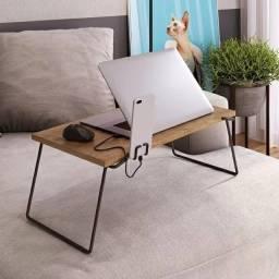 Título do anúncio: Mesa home office notebook ou café na cama multiuso vermont