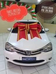 Toyota Etios Platinun 1.5 2015 * -* Boulevard Automóveis